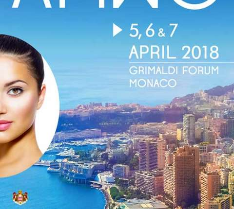 ProDerma Clinic Oy osallistuu AMWC, 16th Aesthetic & Anti -agin Medicine World Congress 5-7.4 2018, Grimaldi Forum Monaco